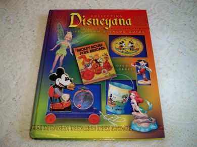 Vintage Collector Book Collecting Disneyanna