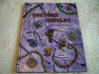 Vintage Collector Book Signed Beauties of Costume Jewelry