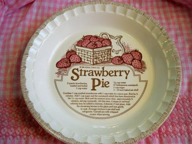 Ceramic Pie Plates Amp Bake By Numbers Pie Pan